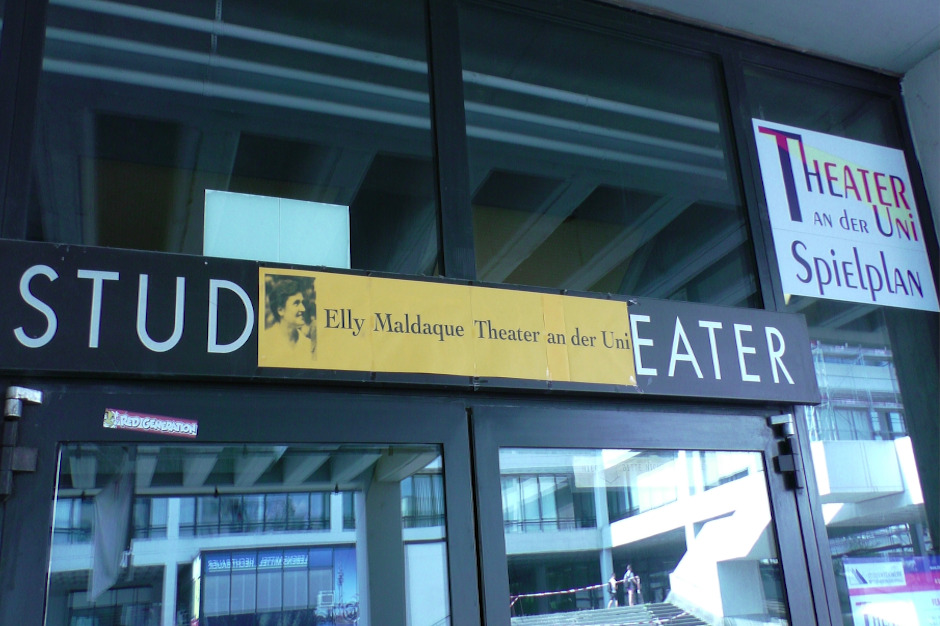 Elly Maldaque Theater an der Uni